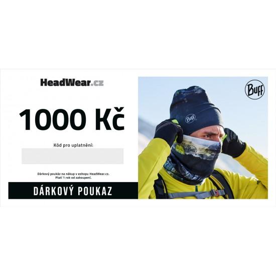 Dárkový poukaz 1000Kč