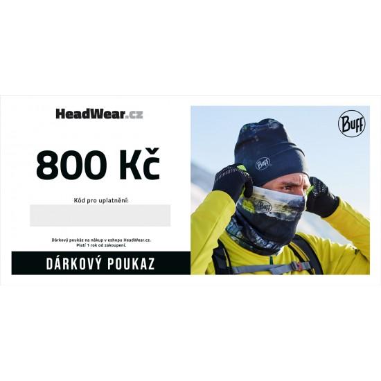 Dárkový poukaz 800Kč